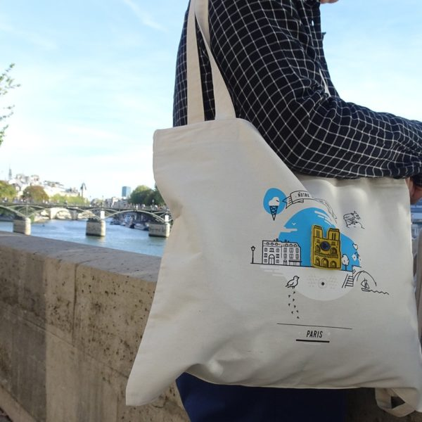 Tote Bag Notre Dame made in France